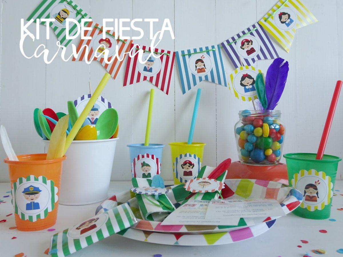 Kit de fiesta de carnaval