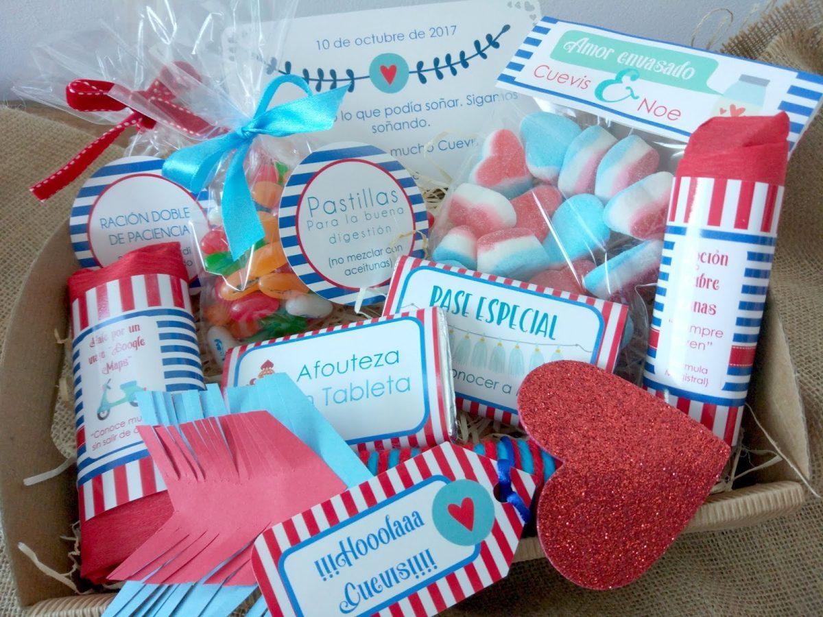 Kit dulce para enamorados