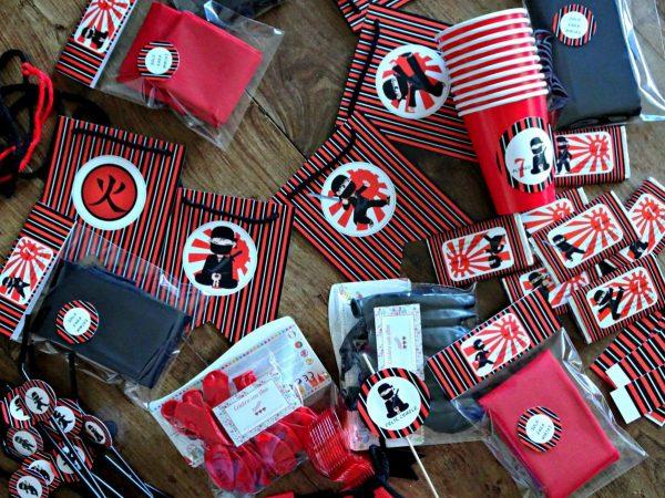 fiesta de ninjas y samurais