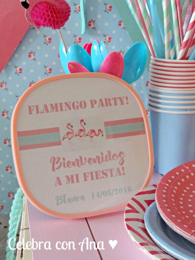 fiesta temática de flamencos