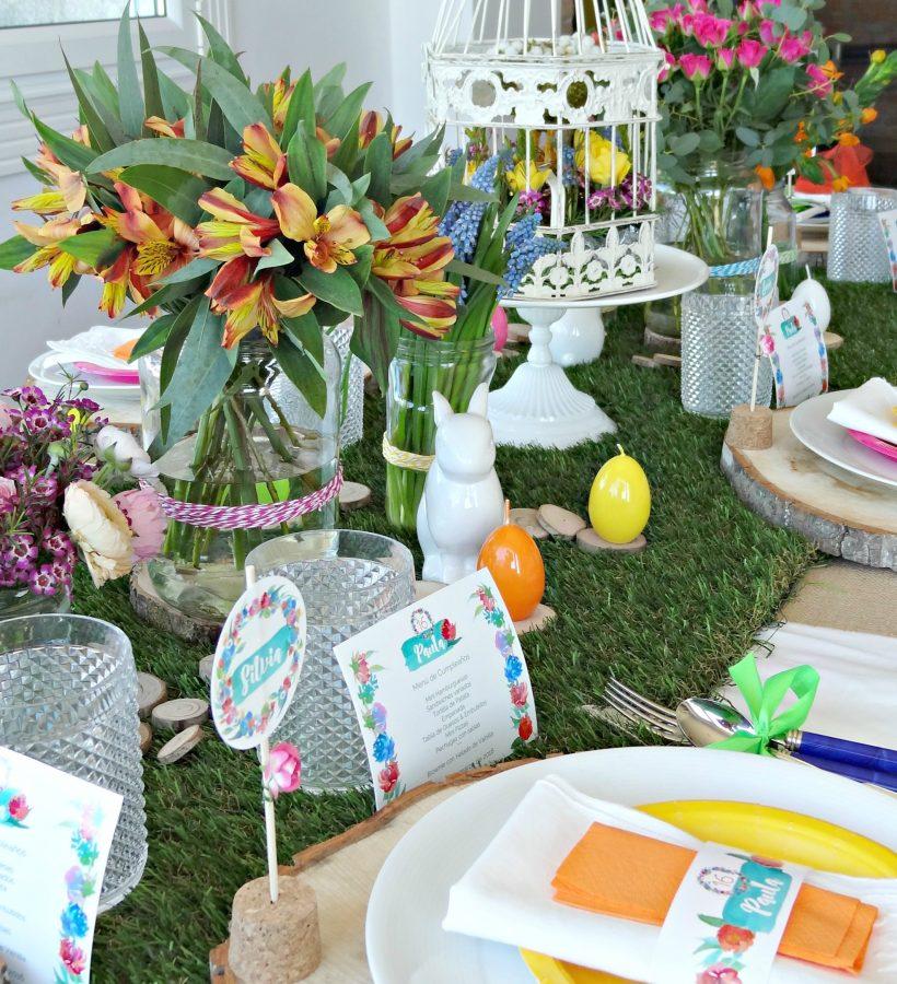 fiesta flores colores