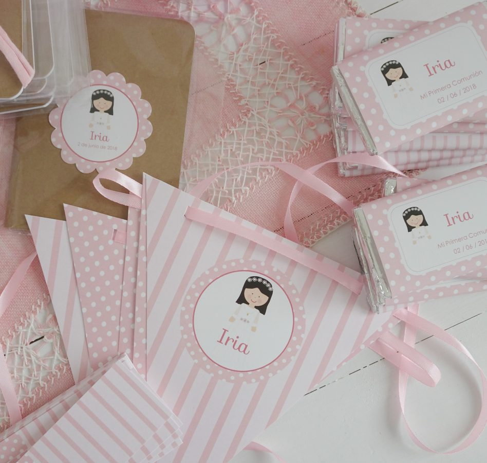 comunión en rosa