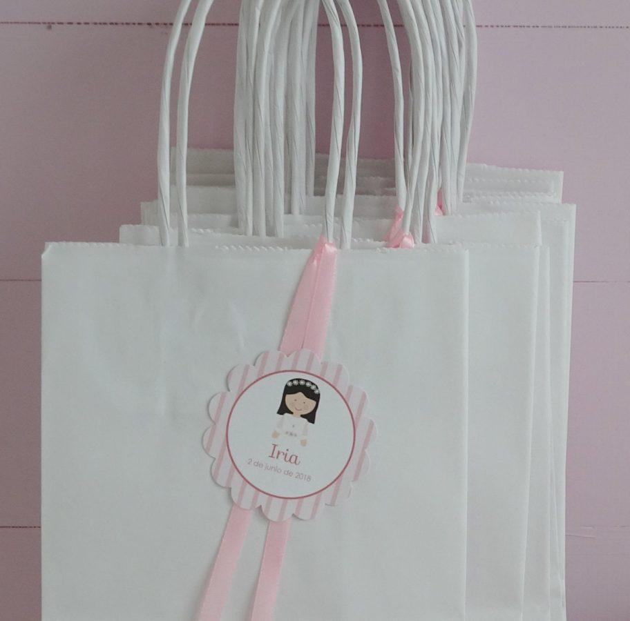 bolsas de comunión niña
