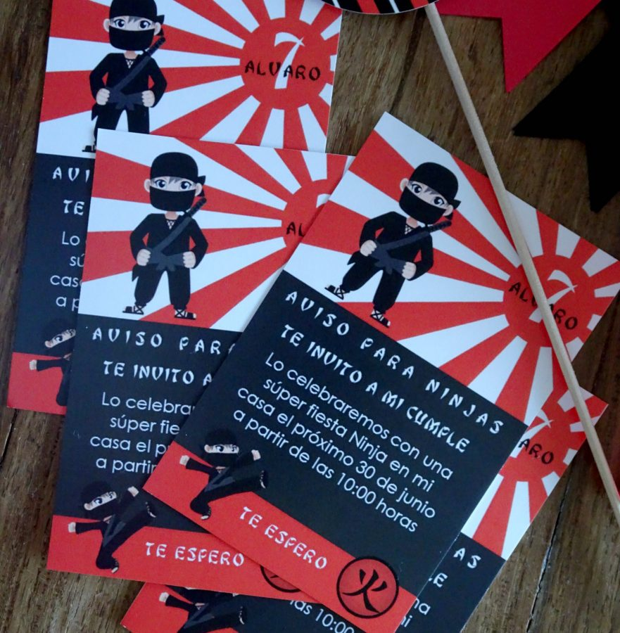 fiesta ninjas y samurais