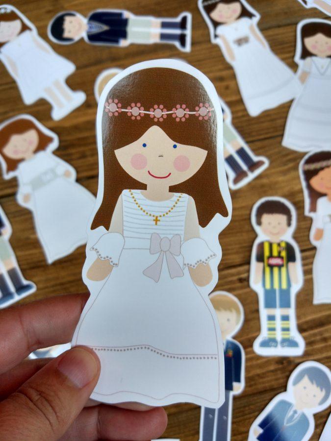 muñeca de comunión celebra con ana