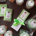 papelería comunión niño verde