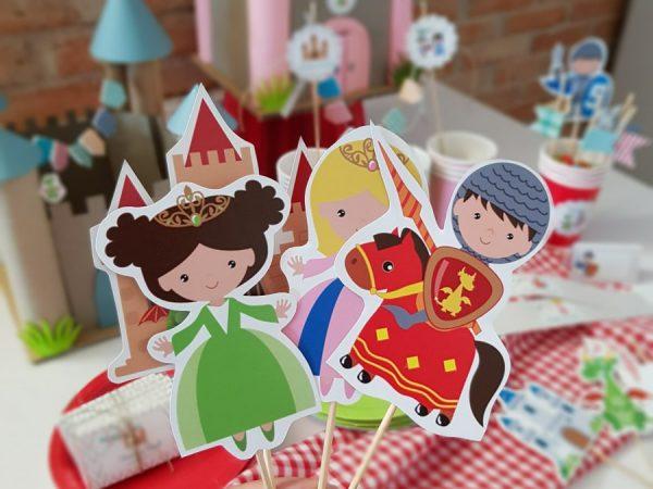 Fiesta de princesas y caballeros