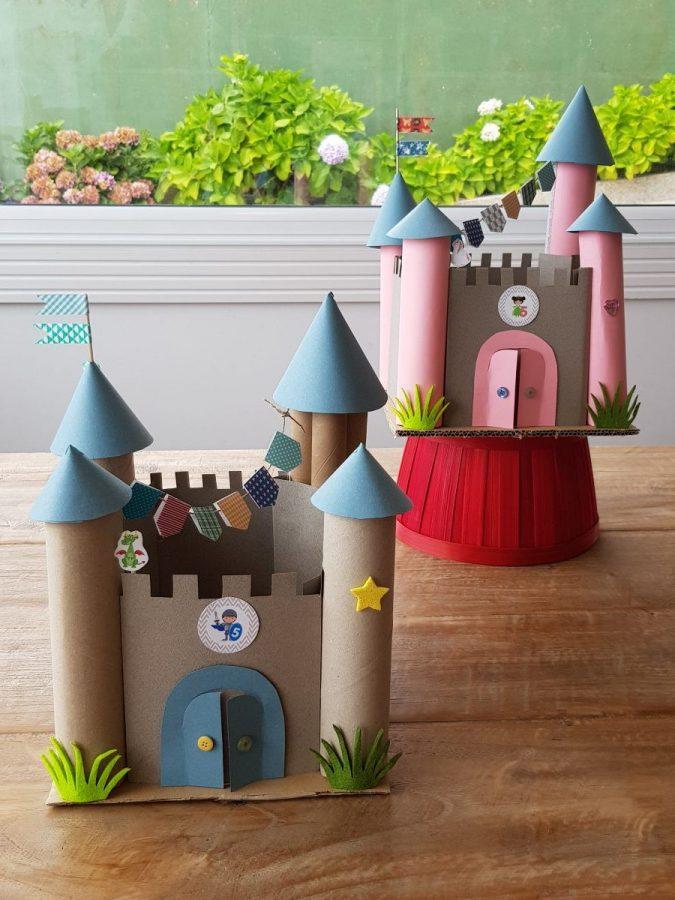 Cómo hacer castillos
