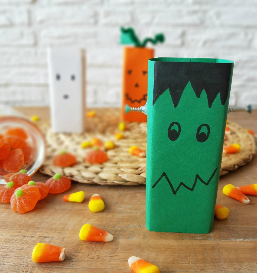 decorar zumos de halloween