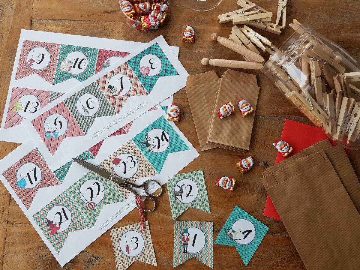 Calendario Adviento Navidad