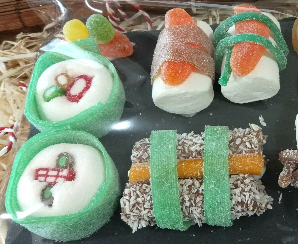 Hacer sushi chuches