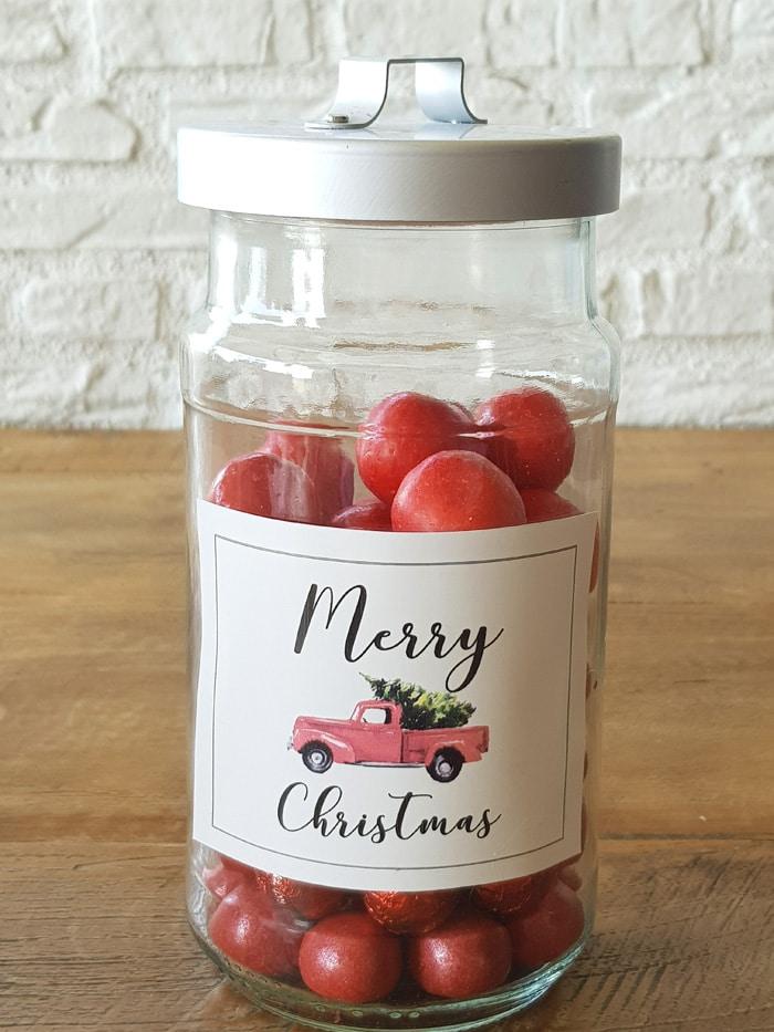 Latas de Navidad